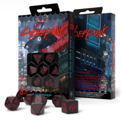 Q-Workshop Cyberpunk Red Essential Dice Set