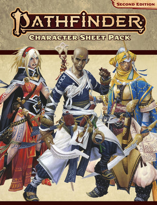 Pathfinder, Second Edition: Character Sheet Pack