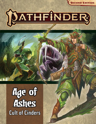 Pathfinder, Second Edition: Adventure Path -  Cult of Cinders (Age of Ashes 2 of 6)