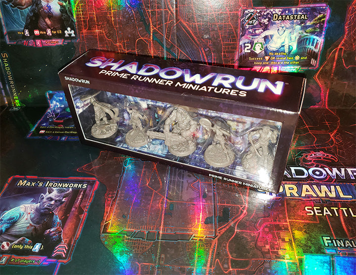 Shadowrun: Prime Runner Miniatures (6th Edition)