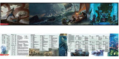 Of Ships and the Sea DM Screen (5e)