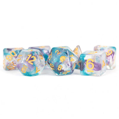 MDG Fancy Fae Unicorn Dice - Set of 7