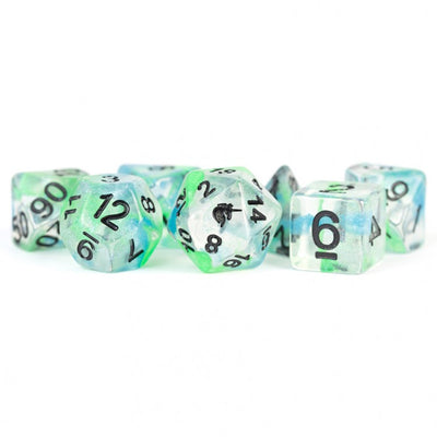 MDG Sea Kelp Unicorn Dice - Set of 7