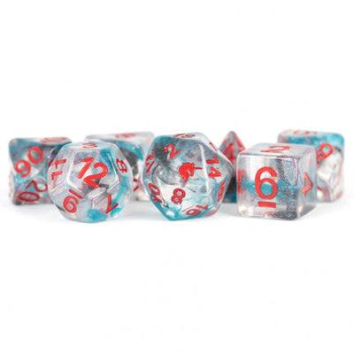 MDG Battle Wounds Unicorn Dice - Set of 7