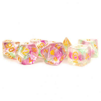 MDG Celestial Blossom Unicorn Dice - Set of 7