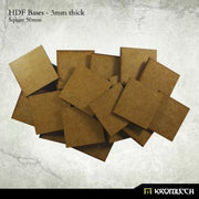 Kromlech 50mm HDF Square Bases - Pack of 20