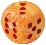 Chessex Festive Sunburst w/ Red Numbers 30mm d6 (Jumbo)