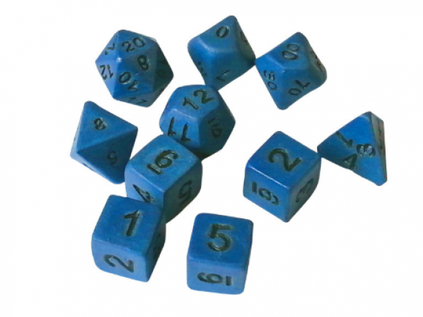 CTC Duskblade Ceramic Dice - Set of 7