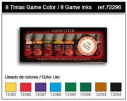 Vallejo Game Color - Set of 8 Inks