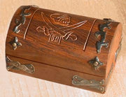 Treasure Chest with Hidden Compartment (Dice Box)