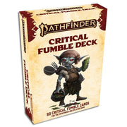 Pathfinder, Second Edition: Critical Fumble Deck