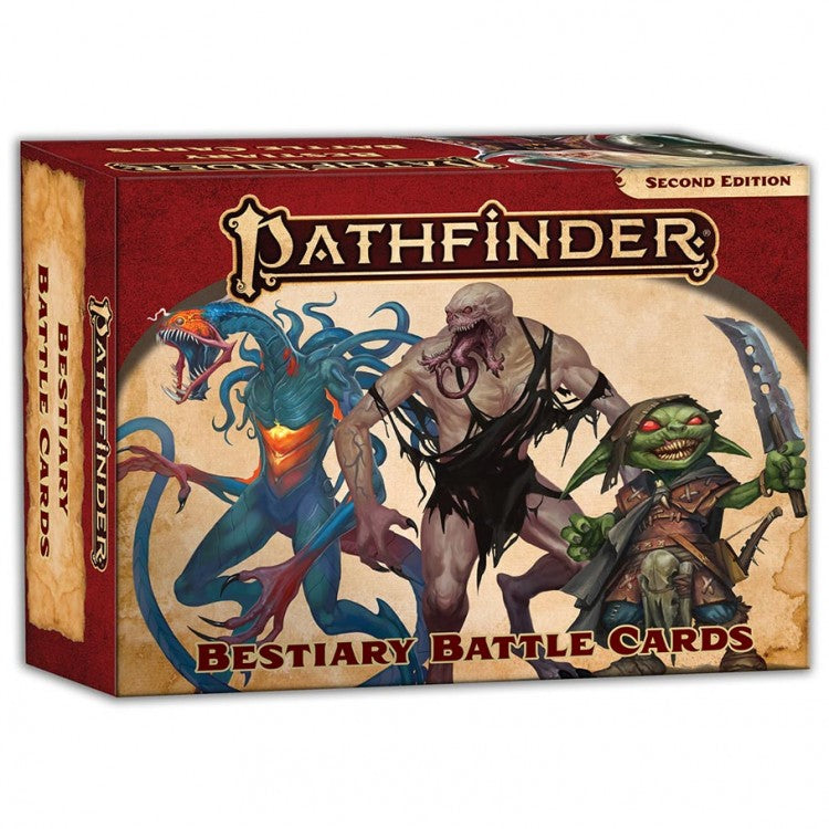 Pathfinder, Second Edition: Bestiary Battle Cards