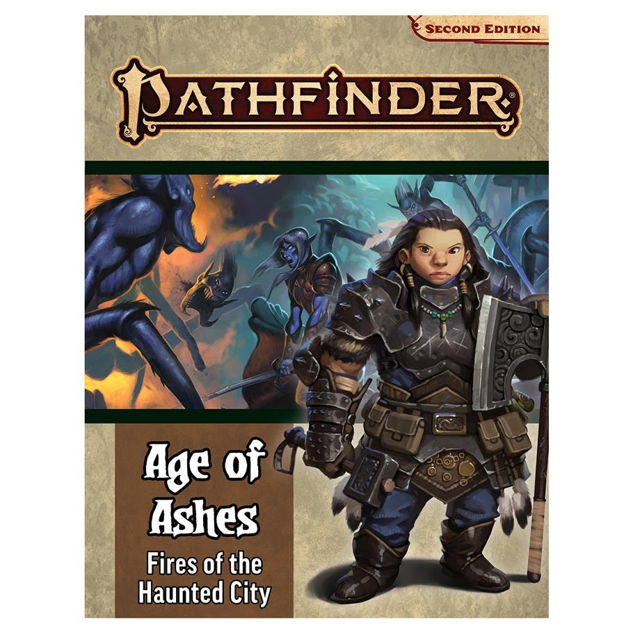 Pathfinder, Second Edition: Adventure Path - Fires of the Haunted City (Age of Ashes 4 of 6)