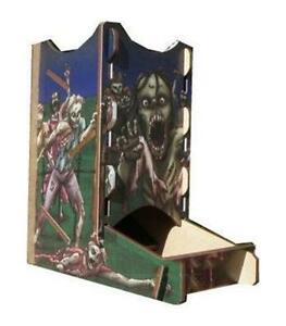 Blue Panther LLC Knockdown Dice Tower - Zombie
