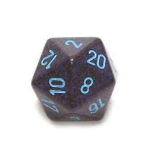 Chessex Speckled Blue Stars 34mm d20 (Jumbo)