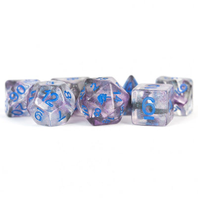 MDG Stellar Storm Unicorn Dice - Set of 7