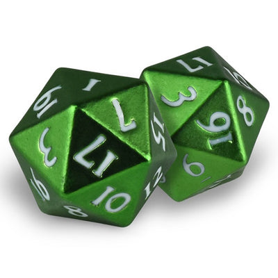 Ultra Pro Heavy Metal d20 - Emerald Forest