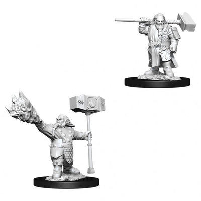 Nolzur's Marvelous Miniatures - Male Dwarf Cleric