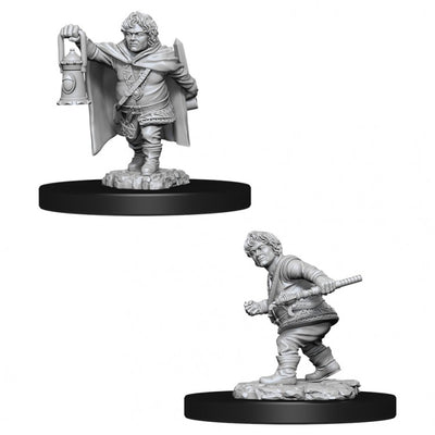 Nolzur's Marvelous Miniatures - Male Halfling Rogue
