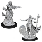 Nolzur's Marvelous Miniatures - Female Human Wizard