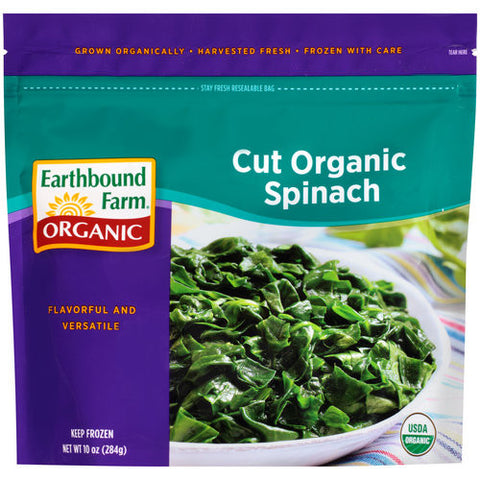 Cut Organic Spinach