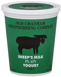 Sheep's Milk Plain Yogurt