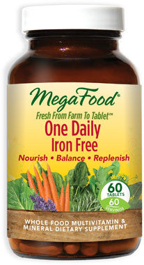 Megafood One Daily Iron Free 60ct