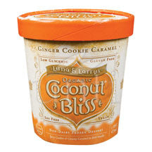 Ginger Cookie Caramel Coconut Bliss