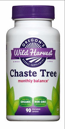 Oregon's Wild Harvest Chaste Tree 90caps
