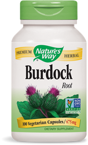 Nature's Way Burdock 100caps