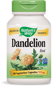 Nature's Way Dandelion Root 100caps