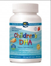 Nordic Naturals Children's DHA 180ct (STRAWBERRY)