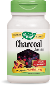 Nature's Way Activated Charcoal 100caps