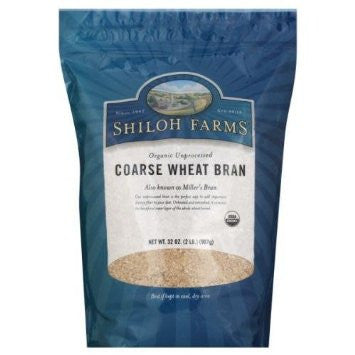 Shiloh Farms Organic Unprocessed Course Wheat Bran 32OZ