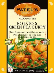 Aloo Mutter Potato & Green Pea Curry