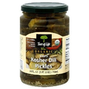 Kosher Dill Pickle Chips