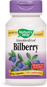 Nature's Way Bilberry 60caps