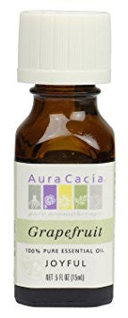 Aura Cacia Grapefruit Oil 0.5oz