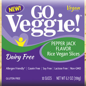 Vegan Rice Pepper Jack Slices