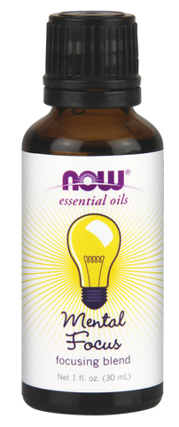 NOW Mental Focus Oil 1oz