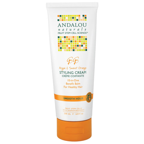 Andalou Argan Oil & Sweet Orange Moisture Rich Styling Cream