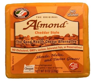 Almond Cheddar Cheese