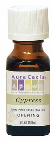 Aura Cacia Cypress Oil 0.5oz