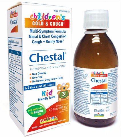 Boiron Chestal Cold & Cough 6.7oz