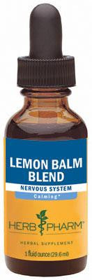 Herb Pharm Lemon Balm Blend 1oz