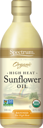 High Heat Refined Organic Sunflower Oil