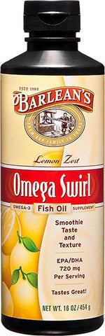 Lemon Zest Omega Swirl Fish Oil