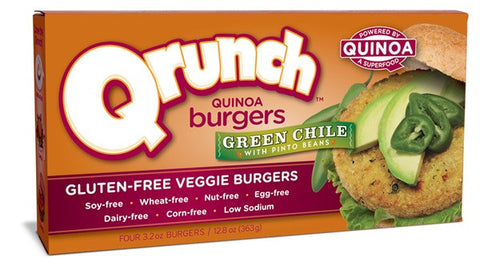 Green Chili Quinoa Burger