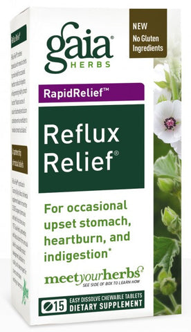 Gaia Reflux Relief 15 tablets