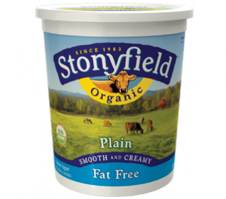Organic Fat Free Plain Yogurt